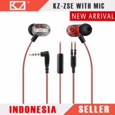 Knowledge Zenith Earphone Olahraga Dengan Mic Qkz W1 Pro Black Source · Knowledge Zenith KZ ZSE