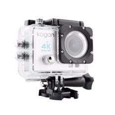 Kogan Action Camera 4K UltraHD - 16MP - Putih - WIFI - putih