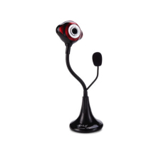L2 Robot Built-in HD Microphone Free Drive Security Webcam (Red)