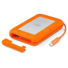 Lacie 1TB Rugged Thunderbolt & USB 3.0 with Integrated Thunderbolt Cable
