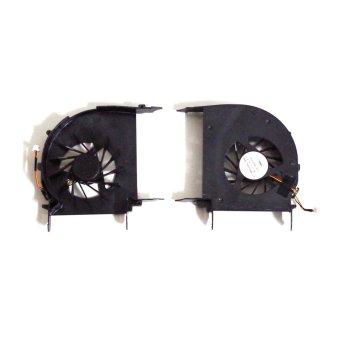 Laptop Cpu Cooling Fan For HP Pavilion Dv7-2000 Dv7-2100 Dv7-2200 516876-001 (Black)