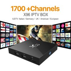 Latest X96 Amlogic S905X Quad Core Android 6.0 IPTV TV BOX 2G/16G KODI 16.1 4K Smart Android Tv box PK M8s T95 Set Top Box X96 - intl