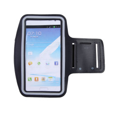 Workout Jogging Sport Running Gym Armband Case For Samsung Galaxy Note 2 3 (Black)
