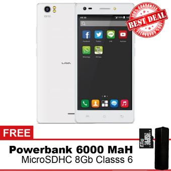 Lava V2 Plus 4G Lolipop - Free MicroSGHC 8GB + Powebank