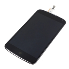 LCD Display Touch Screen Digitizer + Bezel Frame Assembly For Google Nexus 4 / E960