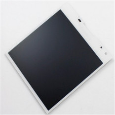Lcd Screen With Frame Complete Screen Lcd Display Touch Screen Replacement Parts White For Blackberry Q30 Passport