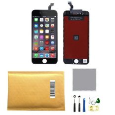 LCD Touch Screen Digitizer Frame Assembly Full Set LCD Touch ScreenReplacement For IPhone 6 (4.7inch) (Black)