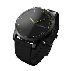 leegoal layar melingkar Bluetooth Smart gerakan kuarsa Perhiasan IP68 tahan air Perak