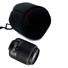 Soft Neoprene DSLR Camera Lens Pouch Bag Case Waterproof Size M