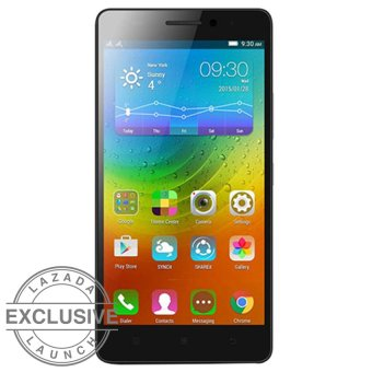 Lenovo A7000 Special Edition - 16 GB - Hitam + Free Back Cover + Screen Protector