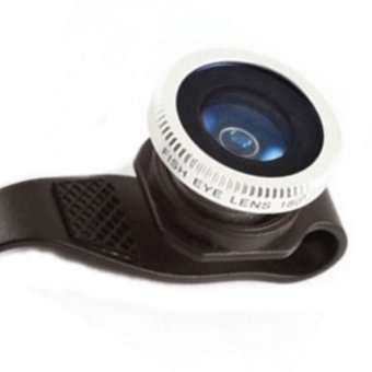 Lensa Lesung Clip Filter Fisheye Lens No 7 For IPhone 4/4s / 5/5s - LX-P007 - Hitam
