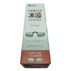 LG Kacamata 3D Clip On - AG-F420 - Hitam
