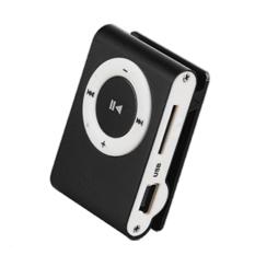 Linemart 4GB Mini Clip Metal Player with Micro / TF Slotf For Mini SD Card Mp3 (Black) (Intl)