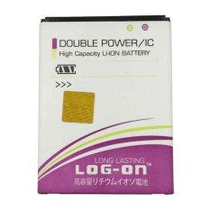 Log On Battery Baterai Double Power Lenovo A6000 - 4000mah