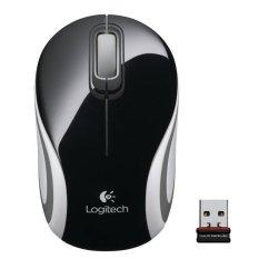 Logitech M187 Mouse Mini Nirkabel - Hitam