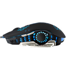LOL CF Computer Wired Game Mouse (Black) - Intl