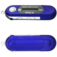 GoSport USB MP3 Music Player Digital LCD Screen Support 8/16/32GB Voice Record TF Card (Blue)