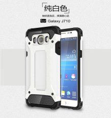 Luxury 2 in 1 Hybrid Durable Shield Armor Shockproof Hard Rugged Phone Case Cover For Samsung Galaxy J7 2016 / J710 - intl