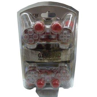 M-Tech USB Gamepad For Extreme Gamers Dual Stick - Merah