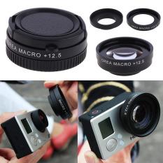 Macro Lens + 12.5 with Lens Adapter For Gopro Hero 3 Hero 3 + Camera Set (Intl)