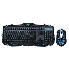 Marvo Paket Keyboard + Mouse Gaming Marvo KM400 / KM800 - Hitam