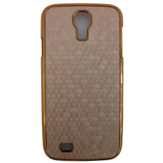 Max Premium for Samsung Galaxy S4 Cool Hardcase Back Cover - Light Brown