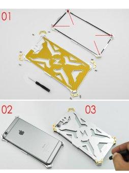 Meishengkai Case For Xiaomi Redmi Note 3 Hollow Design Full Signal Aviation Aluminum .