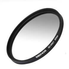MENGS 67mm Graduated GRAY Lens Filter With Aluminum Frame For Digital Camera And DSLR Camera