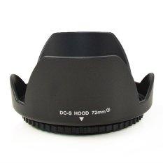 MENGS® 72mm Universal Flower Shape Lens Hood Snap Screw Mount Petal Crown For Digital Camera And DSLR