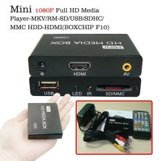 Mini 1080P Full HD Media Player-MKV / RM-SD / USB / SDHC / MMC HDD-HDMI (BOXCHIP F10)