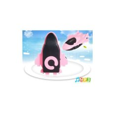 Mini Airplane Model Design MP3 Player with TF Card Reader Pink
