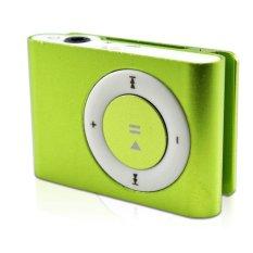 Mini MP3 Player Aluminium Clip USB Support Micro SD TF 2 4 8 GB Green