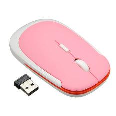 Mini Ultrathin Slim Wireless USB Mice Mouse 1600DPI 2.4GHz Optical For Pro Gamer