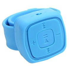Mini Watches Mp3 Player With TF Card Slot Electronic Products Sports Blue 3#