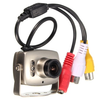 Mini Wired SPY DVR CCTV Security Surveillance Camera Camcorder Monitor NTSC