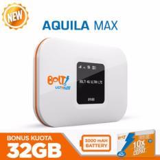 Modem Bolt Wifi 4G LTE Aquila Max - Putih + Bonus Kuota Total 32Gb