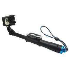 Monopod With Remote Control Holder Mount Adapter For GoproHero4/3 + / 3/2 / 1 - Intl