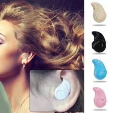 Moonar Fashion Right Ear Type Wireless Mini In-ear Headset Bluetooth 4.1 Earphone Stealth Earphone (Rose Gold) - Intl