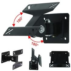 Moonar putar 14-24 inch Flat Panel TV Monitor LCD dinding Mount Bracket