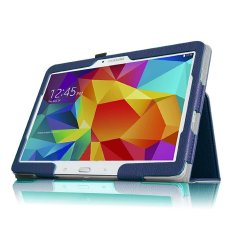 Moonmini Case for Samsung Galaxy Tab S 10.5 SM-T800 (Blue) PU Leather