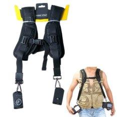 Moreno Quick Rapid Shoulder Neck Strap Belt For DSLR Camera - Hitam