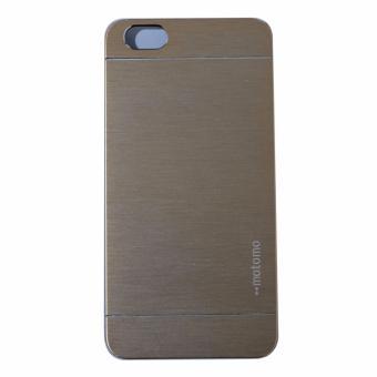 Motomo Hardcase For Vivo Y55 / Vivo Y55S Rubber Polycarbonat +Metal Hardcase Hard Back Case