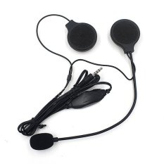 Motorcycle Helmet Earphone Headset Sport Stereo For MP3 Phone Music Device