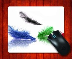 MousePad Feather Artistic For Mouse Mat 240*200*3mm Gaming Mice Pad - Intl