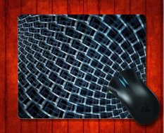 MousePad Fractal Light Abstract For Mouse Mat 240*200*3mm Gaming Mice Pad - Intl