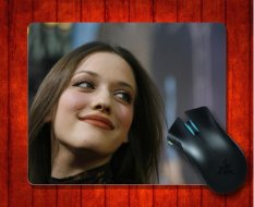 MousePad Kat Dennings88 Celebrity For Mouse Mat 240*200*3mm Gaming Mice Pad - Intl