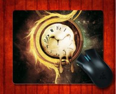 MousePad Melting Clock Artistic For Mouse Mat 240*200*3mm Gaming Mice Pad - Intl