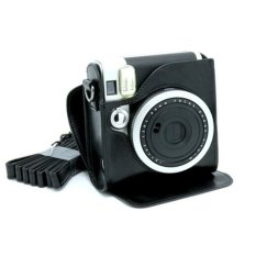 Mulba PU Leather Fuji Mini Case Bag For Fujifilm Instax Mini 90 Black C570