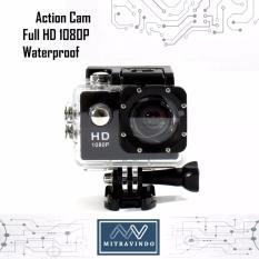 Mv Action Camera Full HD - 1080P - Waterproof - Tahan Air Kamera Aksi Olahraga