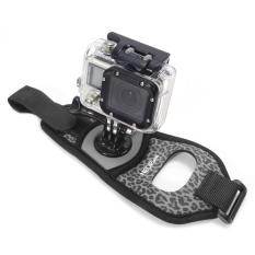 NEOPINE GWS-3 Leopard Pattern Wrist Strap for GoPro Hero Action Cameras - Grey